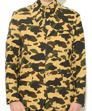 Mr Bathing Ape / Bape  - 1st Camo Seersucker  - Green - Blazer / Jacket sz. XL
