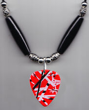 Eddie Van Halen Signature Red Frankenstrat Guitar Pick Necklace - 2015 Tour