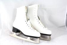 Nijdam Damen Schlittschuhe Eiskunstlauf, Weiß, Größe EU 37 *NEU*