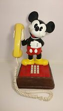 1976 Mickey Mouse Disney vintage Push Button Phone