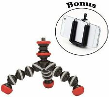 Joby Mini Magnetic Pocket-Sized Tripod + Universal Smartphone Mount Adapter New