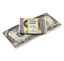 Dynomighty FUNNY MONEY TRIFOLD MIGHTY WALLET durable tyvek expandable folded