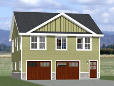 30x32 House -- 2 bedroom 1.5 Bath -- 986 sqft -- PDF Floor Plan -- Model 1C