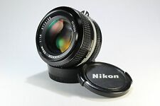 Nikon NIKKOR 50mm F1.4 Ai from Japan lens manual focus SLR #3158
