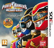 Power Rangers Megaforce NEW Nintendo 3DS