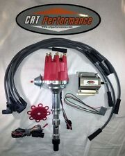 CADILLAC 472 500 PRO SERIES Small Cap RED HEI Distributor,Coil,Spark Plug Wire