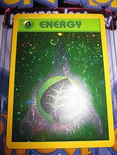 POKEMON NEUF PROMO 2000 GRASS ENERGY NINTENDO HOLO FOIL CARD LEAGUE VERY RARE