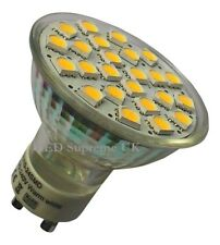 GU10 24 SMD LED 350LM 3.5W Warm White Bulb ~50W