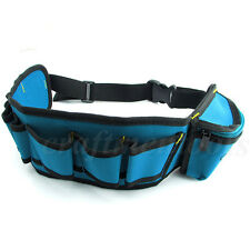 Men Multi-Pockets Waist Tool Bag Utility Pouch Electricians Belt Bags Organizer