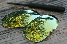 24 K Gold  Mirrored Custom Replacement Sunglass Lenses for Oakley Juliet