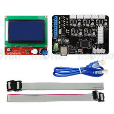 3D Printer Kit MKS Base V1.4 Remix Board + 12864 LCD Controller for RAMPS 1.4