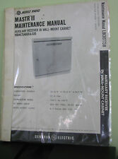 GE Mobile Radio MASTR II Auxiliary Receiver In Wall-Mount Cabinet Maint.Manual