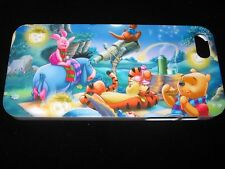 Pooh & Friends Hard Cover Case for iPhone 5 5s Nightime Picnic Piglet Eeyore +