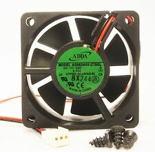 60mm 20mm New Case Fan 24V DC 16.4CFM PC Cooling Fluid Brg 2 wire 6020 464*