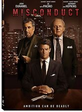 MISCONDUCT BRAND NEW DVD SEALED FREE SHIPPING ANTHONY HOPKINS