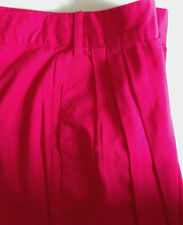 United Colors of Benetton Trousers  Cerise 100%  Cotton made in Italy  c1980s