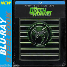 NEW-RARE-The Green Hornet (Blu-ray Embossed Steelbook) Seth Rogen FREE SHIPPING