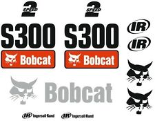 (ORIGINAL LOOK) BOBCAT S300 FULL DECAL STICKER SET KIT SKID STEER MU77