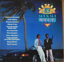 THE BEST OF MIAMI VICE SERIE TV CAR COVER GERMAN  PRESS LP
