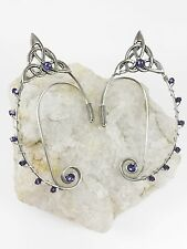 Elven Ear Cuffs - Elf Ears - Fairy Ear Cuffs - Ear Wraps - Celtic Knot