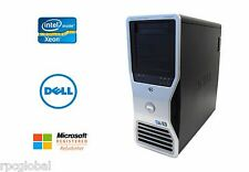 Dell Precision T7500 Workstation Xeon 12 Cores 3.33GHz 64GB RAM SSD + HD GTX 960