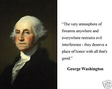 """George Washington """" the very atmosphere"""" Quote 8 x 10 Photo Picture # v1"""
