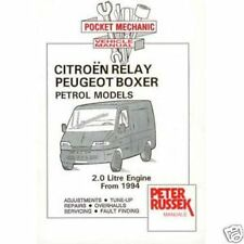 Citroen Relay Petrol Models 2.0, 1994 to 2001 by Peter Russek car van manual