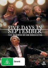 Five Days in September: The Rebirth of an Orchestra * NEW DVD * Yo Yo Ma