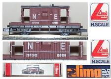 LIMA 358 CARRO MERCI di FINE CONVOGLIO con CABINA FRENATORE GB-ENG BOX SCALA-N