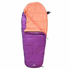 Kathmandu Pipsqueak Kids Rectangular Insulated Camping Sleeping Bag v5 Purple