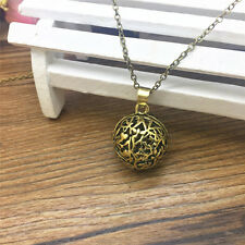 Hot Perfume Fragrance Essential Oil Aromatherapy Diffuser Locket Necklace DL11