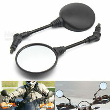 Folding Rear Mirror Round Motorcycle Universal 8mm 10mm Thread Mirror For Honda