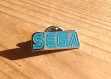 SEGA LOGO Rare Promo Enamel PIN BADGE Pins SONIC THE HEDGEHOG RETRO 90's Gaming