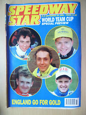 SPEEDWAY STAR,18 Sept 1993- World Team Cup Special Preview-England go for Gold
