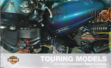 2009 Harley Touring Electra Glide Classic Road King Owner's Owners Owner Manual