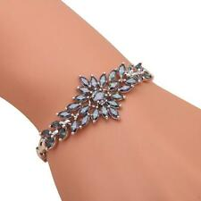 TB872 Amazing Rainbow Topaz Watch Bracelets Silver Filled Fashion Jewelry