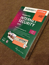 KASPERSKY internet security 2014 !!!!NEUF!!!!! POUR  1 PC /1 AN