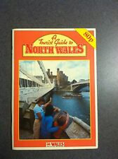 A Tourist Guide To North Wales 1982 Color Paperback United Kingdom Great Britain