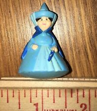"Disney Sleeping Beauty Merryweather 2"" Figure Fairy Godmother Cake Topper Toy"