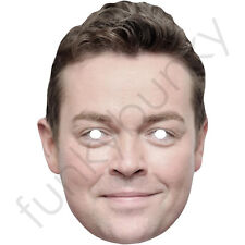 Stephen Mulhern Celebrity Card Mask - All Our Masks Are Pre-Cut!