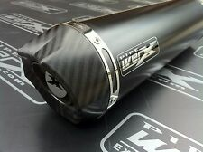 Pipe Werx Kawasaki ZX636  04 Carbon Outlet Black Round Exhaust Can SL