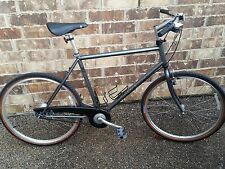 NOS GARY FISHER ALFRESCO BICYCLE SILVER XL 7-SPEED SHIMANO HYBRID