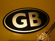 "GB Classic Motorcycle Scooter Adhesive BADGE 3.75"" Nationality ID Plate Car Bike"