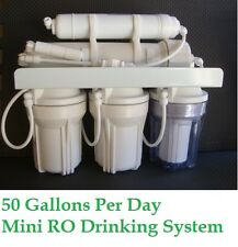 Compact 5 stage 50 GPD mini Drinking RO Reverse Osmosis System RQ5-5-50