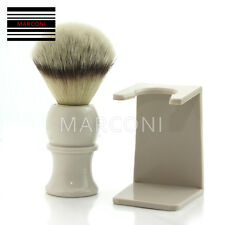 100% Synthetic Fiber Shave Shaving Brush with Free Brush Holder /Stand