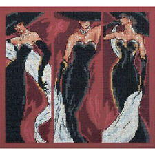Cross Stitch Kit The Three Graces