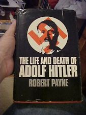1973 Book LIFE AND DEATH OF ADOLF HITLER, BIOGRAPHY by Payne WW2 GERMANY HISTORY