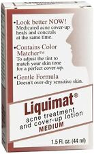 Liquimat Acne Treatment and Cover-Up Lotion Medium 1.50 oz