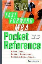 The Fast Forward MBA Pocket Reference (Fast Forward MBA Series) Argenti, Paul A
