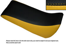 BLACK & YELLOW CUSTOM FITS QUADZILLA SMC RAM 250 DUAL LEATHER QUAD SEAT COVER
